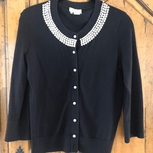 kate spade beaded cardigan!